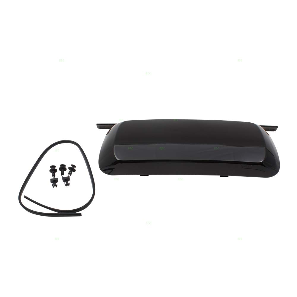 Rear Bumper Trailer Hitch Tow Cover w/Hardware Replacement for 07-14 Chevrolet Suburban Tahoe GMC Yukon 19172860 by Brock