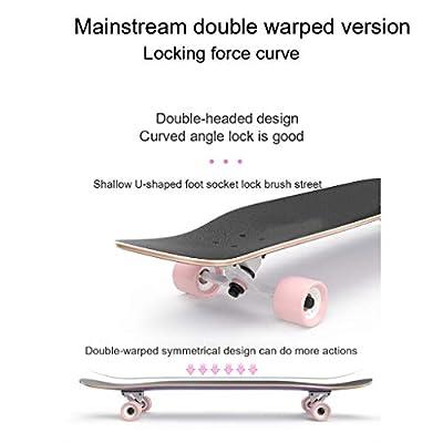 OFFA Longboard Skateboard Complete, Skateboard 9 Layers Decks 42
