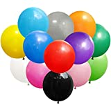Koogel 36'' Big Balloons, 15 Pcs Latex Balloons Jumbo Latex Giant Balloons Large Balloons Giant Balloons for Birthday Wedding
