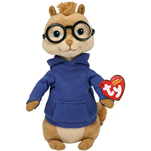 Ty Beanie Baby Simon, Alvin and the Chipmunks by Ty