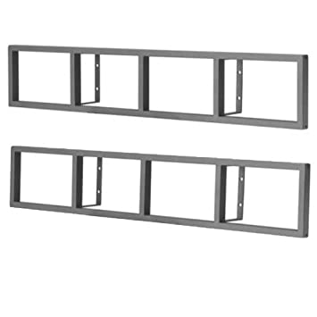 Ikea lerberg  Amazon.com: IKEA - LERBERG CD/DVD wall shelf, dark gray (X2 ...
