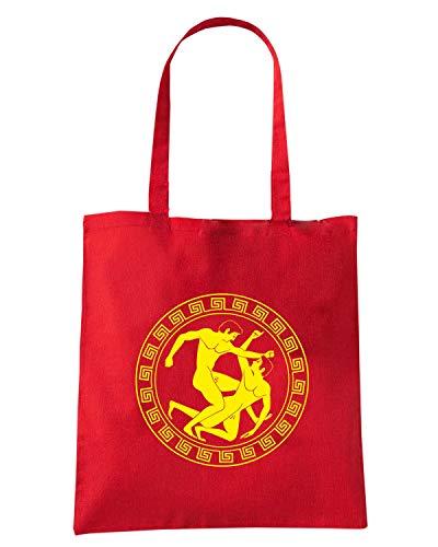 Rossa TAM0214 MMA Borsa Shopper GRECO ROMANA LOTTA az8TZwq