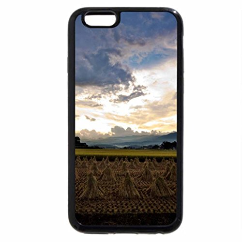 iPhone 6S / iPhone 6 Case (Black) Rice Harvest