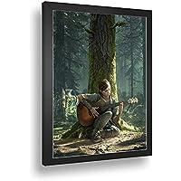 Quadro Decorativo Poste The Last Of Us Pt2 Classico Retro