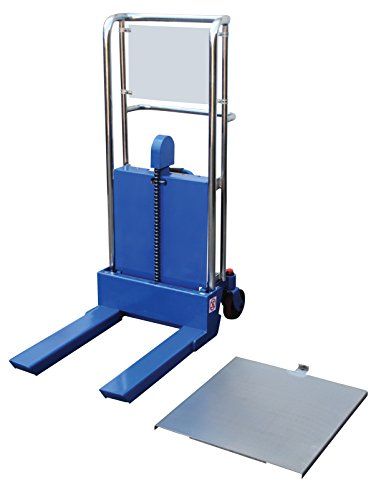 Vestil HYD-5 Portable Foot Pump Hefti-Lift, 41'' x 54'', Blue by Vestil