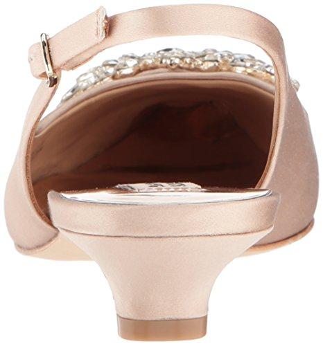 Satin Page Women's Pump Mischka Latte Badgley qXEPS