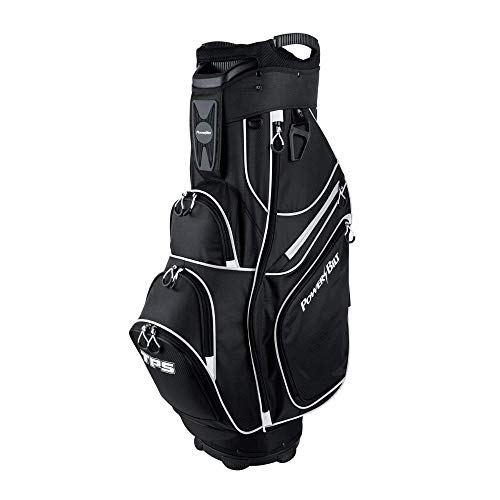 (Powerbilt Golf TPS Cooler Cart Bag - Black/White)