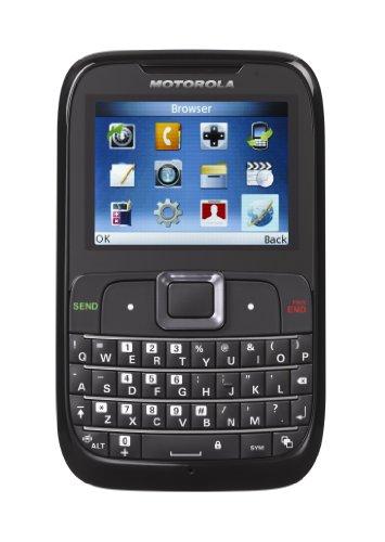 Telcel America Motorola Pre-Paid Cell Phone – Motogo! EX431G – Black
