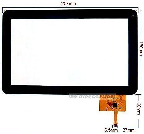 Touch Screen Digitizer TPC0057 PROTAB25XXL OPD geben f/ür 25.65 cm Point of View ProTab TAB Tablet