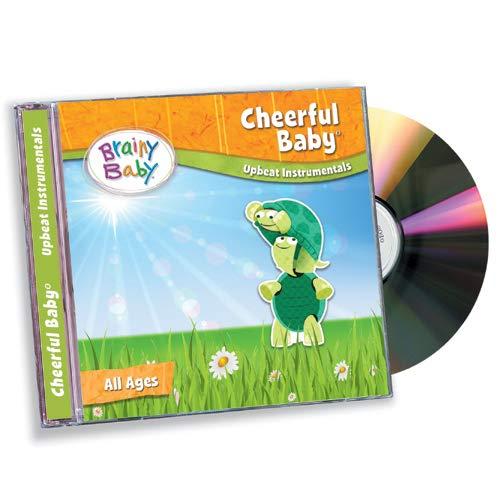 CHILDREN'S MUSIC CD Cheerful Baby - Upbeat Instrumentals for Preschool Children by Brainy Baby®