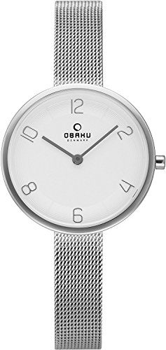 OBAKU watch VAND STEEL 2 needle V195LXCIMC Ladies