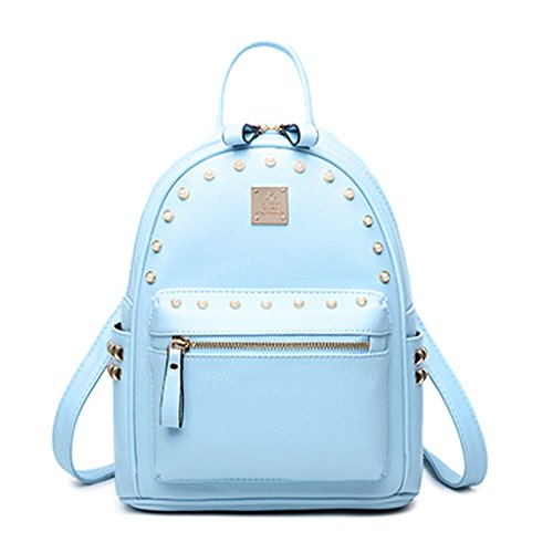 Vestiti Blu Cielo Tracolla Moda Bag Femminile Casuale Selvatici Rivetto Personalità Coreano Signore colore rr7n4SxWP