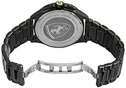 Ferrari Men\'s 0830142 Scuderia XX Analog-Display Quartz Black Watch