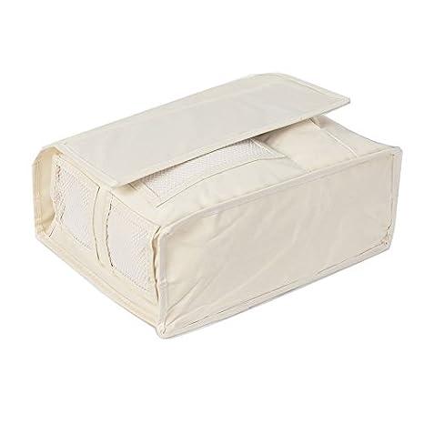 Hrph 6 pochettes moustiquaire tissu de rangement sac de rangement livre /à distance sac /à bandouli/ère organiseur