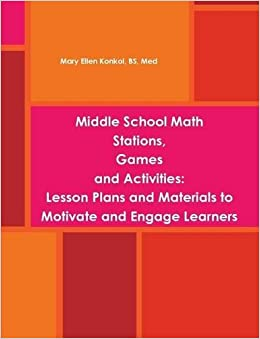 Middle School Math Stations, Games and Activities:Lesson