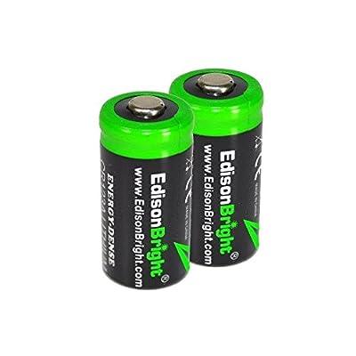 Fenix PD35 TAC Edition 1000 Lumen CREE XP-L LED Tactical Flashlight with Fenix ARB-L2M 18650 Li-ion rechargeable battery, Fenix ARE-X1 charger and 2 X EdisonBright CR123A lithium batteries bundle