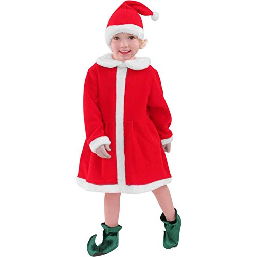 [Child's Santa's Helper Costume (Size:Small 4-6)] (Childrens Santas Helper Costume)