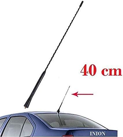 Inion Kfz 40cm Antennenstab Stab Auto Antenne Radio Ukw Fm Dachantenne Auto