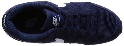 Herren Gymnastikschuhe MD Runner White Blau Navy Midnight 410 2 Nike Grey Wolf wI7andx6qI