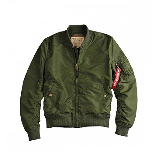 Dark Bomberjacke Tt Ma 191103 Industries 1 Jacket Green Alpha O0B7v0