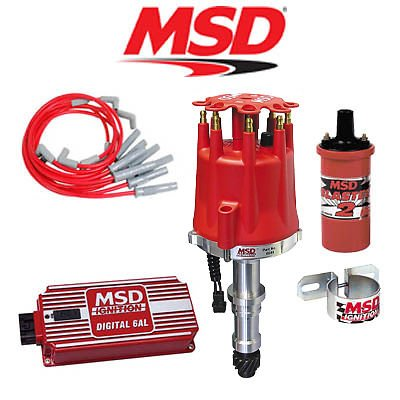 MSD 9026 Ignition Complete Kit - Digital 6AL/Distributor/Wires/Coil - Buick (300+ Ignition Kit)