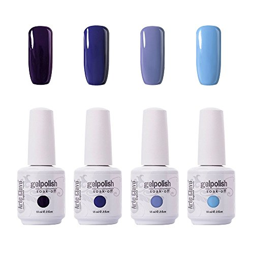 Arte Clavo 15ml Varnish Soak Off UV Led Nail Gel Polish Nail