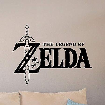 ONETOTOP The Legend of Zelda Tatuajes de Pared Master Sword Poster ...