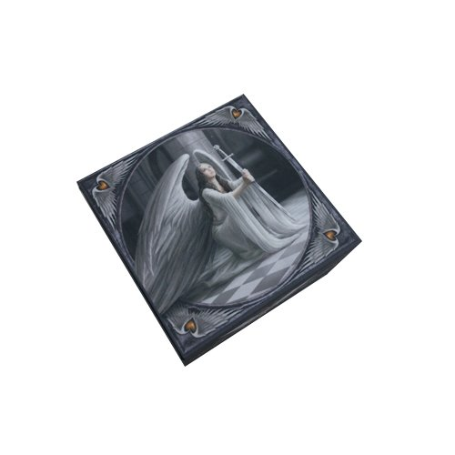 5 Inch Fairy Blessings Jewelry/Trinket Box with Mirror Figurine ()