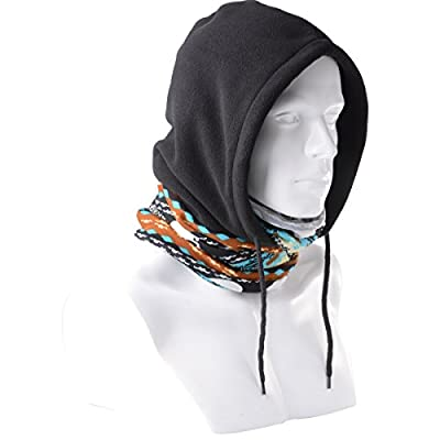 Xcellent Global 4 - in -1 Multi-purpose Balaclavas For Winter and Spring Autumn Use, Resist to Cold and Dust, Great for using as Ski Mask, Motorcycle Mask, and all Outdoor Winter Sports Mask M-SP00