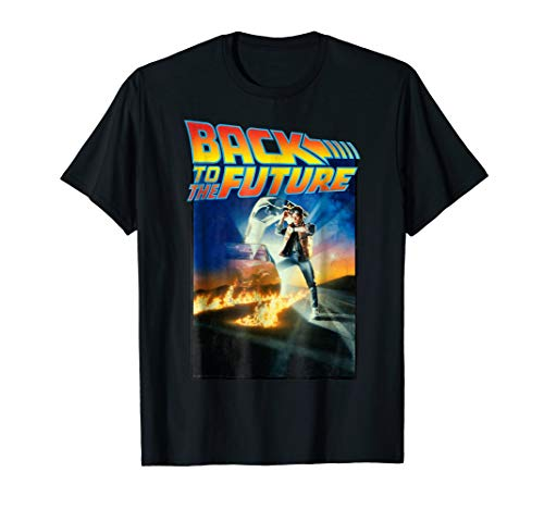 Back To the Future Movie Poster Graphic T-Shirt for Adults or Kids