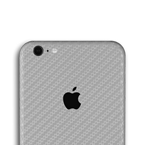 appskins posteriore iPhone 6S Plus Carbon Silver