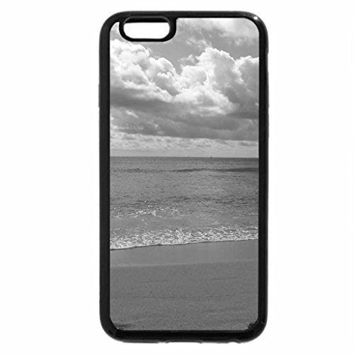 iPhone 6S Plus Case, iPhone 6 Plus Case (Black & White) - Miami Beach