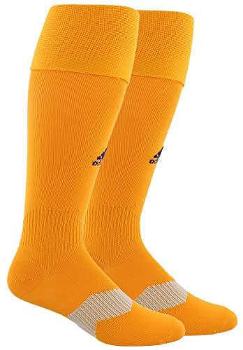 adidas Unisex Metro IV OTC Soccer Sock (1-Pair), Lucky Orange/Unity Ink, 9-13