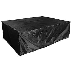 Funda impermeable para muebles jard n 213 132 74cm for Fundas para mesas de jardin