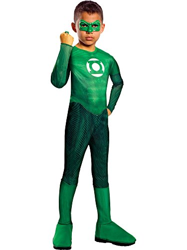 Green Lantern Child's Hal Jordan Costume - One Color - Medium