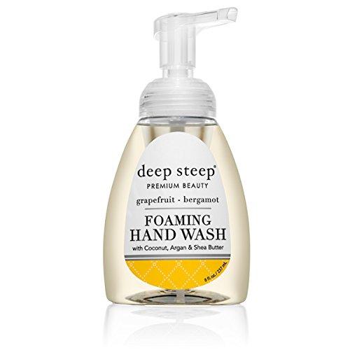 Deep Steep Organic Foaming Handwash Grapefruit Bergamot -- 8 fl oz