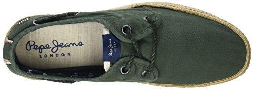 Khaki Laces Jeans Green Pepe Homme Vert Espadrilles Sailor 84qfwY