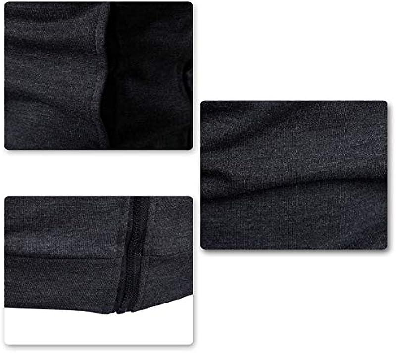 AOWOFS męska bluza Regular Fit Cardigan bez kaptura z zamkiem błyskawicznym bluza jesień szara mała: Odzież