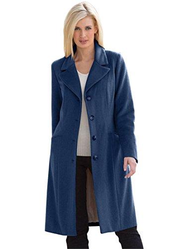 Wool Blend Lady Coat - 3