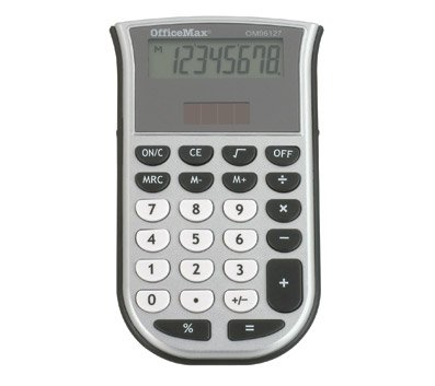 officemax-8-digit-handheld-calculator