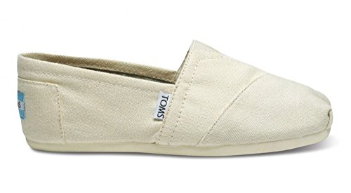 (TOMS Womens Classics Navy Canvas 001001B07-NVY Womens 7.5)