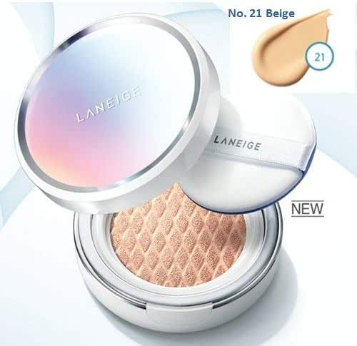 New Laneige BB Cushion [Whitening] NO. 21 Beige (with refill)