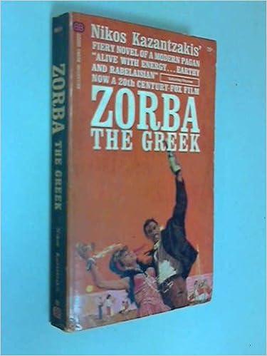 Nikos Kazancakis Zorba Ebook Download