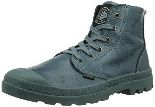 Palladium Men's Pampa High Leather Boot,Nordic Blue,7 M US