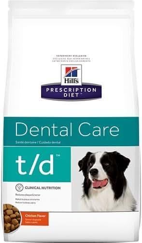 Hill's Prescription Diet t/d Dental Care Chicken Flavor Dry Dog Food 5 lb