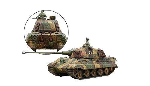 (Bolt Action King Tiger Tank 1:56 WWII Military Wargaming Plastic Model Kit )