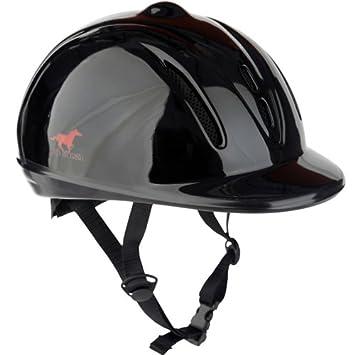 8f55915bbe287 Childrens Horka Horse Riding Kitemarked Safety Helmet Kids Black XS S