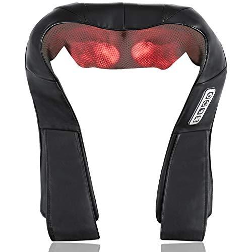 Neck Shoulder Back Massager, Electric Back Massage with Soothing Heat, Deep Tissue 3D Kneading Massage for Shoulder, Leg…