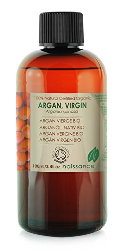 Bio Arganöl, nativ - 100% reines kaltgepresstes Basisöl - Organisch zertifiziert - 100ml