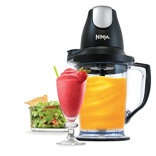 Ninja Blender/Food Processor with 450-Watt Base, 48oz Pitcher, 16oz Chopper Bowl, and 40oz Processor...